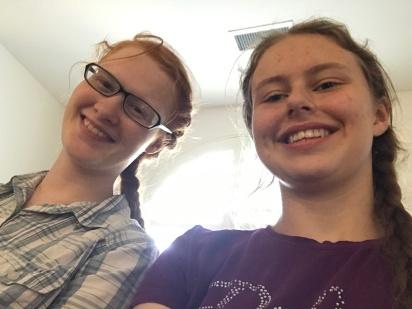 Kyra and I