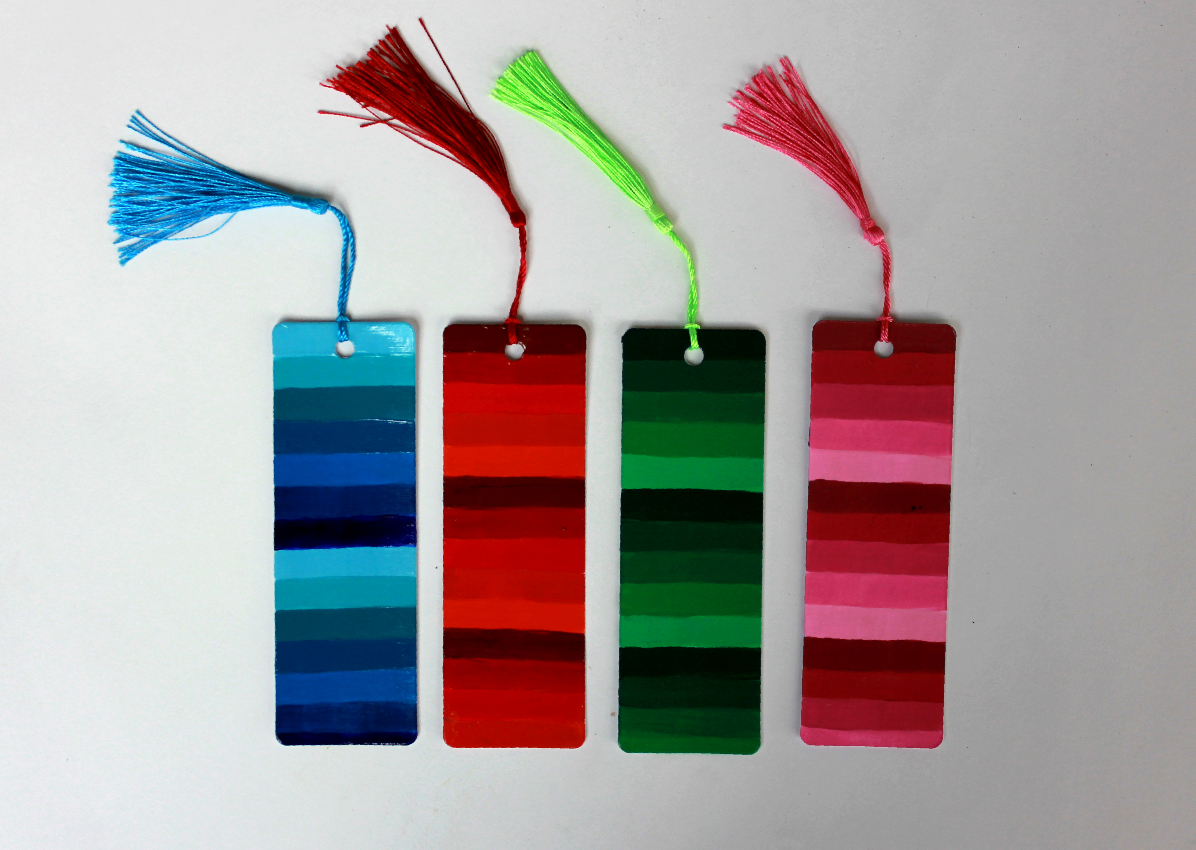 Striped Bookmarks (1)