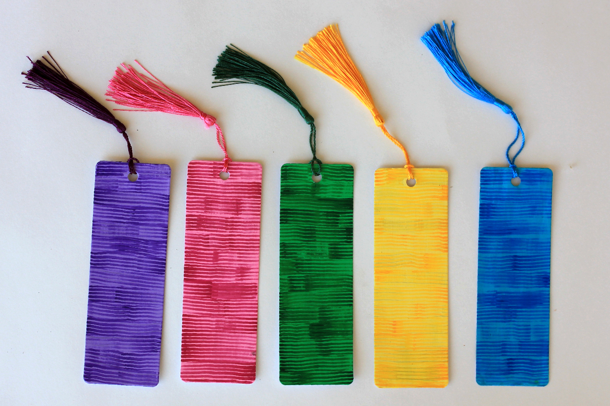 Striped Bookmarks