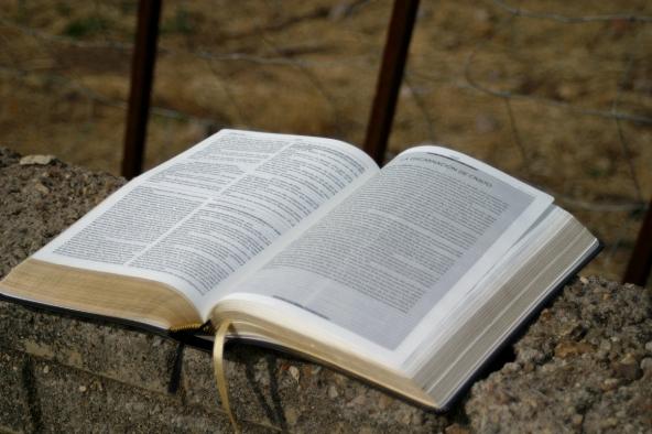 Bible on Wall